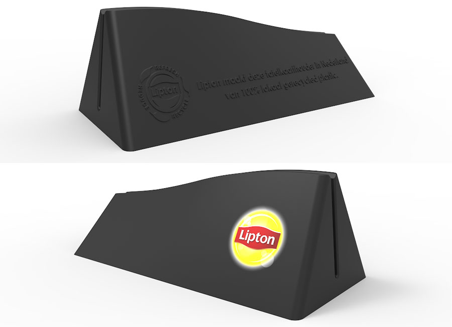 Lipton Menu Card Holder